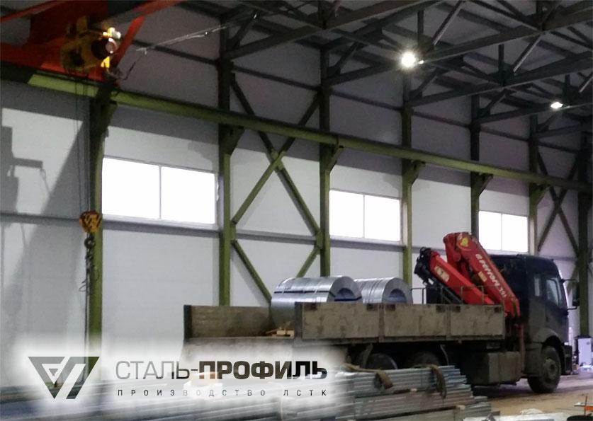 f6b4d6a1d3f6 Производство профиля ЛСТК и конструкций из него на нашем заводе