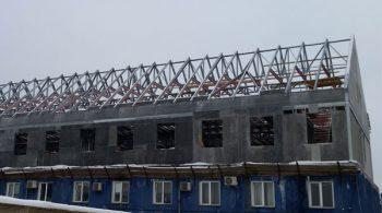 Двухэтажная надстройка ЛСТК